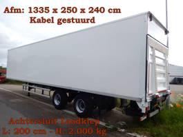 closed box semi trailer Floor FLO 12 18K1 2 As Oplegger Gesloten, OK-21-BP 2007