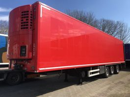 refrigerated semi trailer Chereau koelvries , Thermo King  SL200e, ,Stuuras , liftas, laadklep,levensmiddel 2008