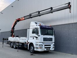 crane truck MAN TGA 26.310 / Palfinger PK29002 Performance kraan / Radio remote / 6x2 / Manual 2005