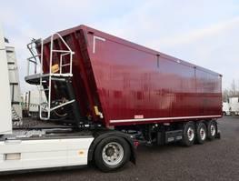 tipper semi trailer Kempf SKM 56 m³ Alumulde 2 x Lift 2018