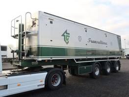 tipper semi trailer Bulthuis Bulthuis 51 m³ Lenkachse hydr. Klappe 45 to GG 2011