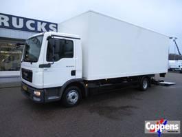 closed box truck MAN 12.220 TGL Gesloten bak met klep Euro 5 2011