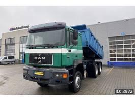 tipper truck > 7.5 t MAN 26.322 Day Cab, Euro 1, Full steel - 3-side tipper - sleeper cab 1993