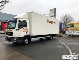 closed box truck MAN TGL 12.210 Belgium truck - Euro 4 - Top condition - d'Hollandia 2009