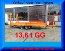 Tieflader Auflieger Demmler TL140  13,6 t Tandemtieflader 2011