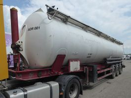 feed semi trailer SPITZER Eurovrac SK2465 CAL ADR ,CEMENT Rieselguter,Granulat,Silo,Cistern,65m3 2005
