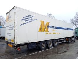 closed box semi trailer Box-oplegger