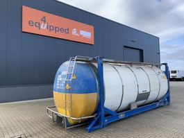 tank container Van Hool 20FT, swapbody TC 28.200L, L4BN, UN PORTABLE, T7, CSC: 07/2023 2003