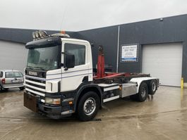 container truck Scania 94G 300 6X2 HAAKSYSTEEM
