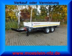tipper truck > 7.5 t Möslein TTD 13  13 t GG Tandem Kipper Tieflader-- Neufahrzeug -- 2021