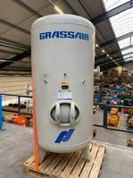 Kompressoren Grassair 2000 liter 11 bar verticale luchtketel 1999