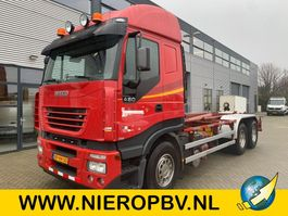 container truck Iveco 260/480 Airco AJK Haakarm systeem Autosmeering 2004