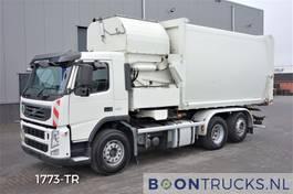 garbage truck Volvo FM 330 6X2 HN-SCHÖRLING SL-VK-F | SEITENLADER MÜLLWAGEN * HEBACHSE 2012