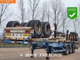 Container-Fahrgestell Auflieger ASCA 3 Units! Steel suspension 2 axles 1x20-2x20-1x30-1x40ft 2005