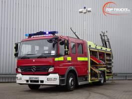 fire truck Mercedes-Benz Atego 1325 RHD - Crewcab, Doppelcabine - 1.400 ltr watertank - Feuerwehr, Fire... 2007
