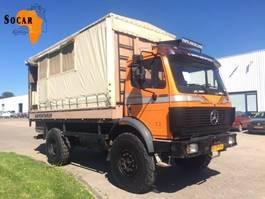 tilt truck Mercedes-Benz 1722 SK 4x4 Expeditie - Truck / overlander / camper / motorhome / mobilhome 1992