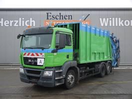 garbage truck MAN TGS 26 TGS 28.320BL 6x2-4