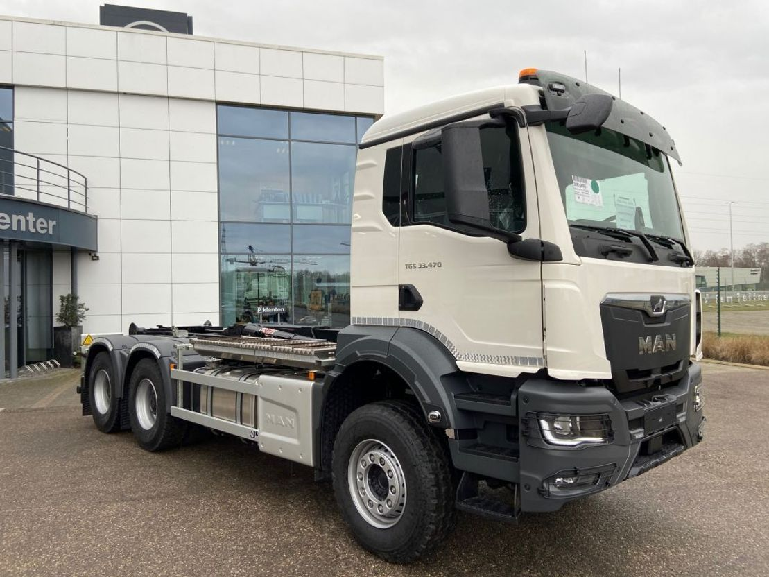 Container-LKW MAN New Generation TGS 33.470 6x4 BB-NN containerhaak wb 3900 2021