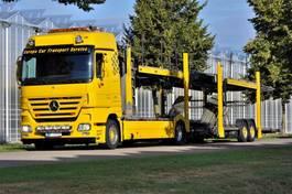 car transporter truck Mercedes-Benz Actros 1846 L/NR 4x2  Megaspace 2007