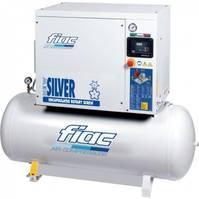 Kompressoren FIAC New Silver D 3 / 200 Silent 2.2 kW 280 L / min 10 Bar Elektrische Schroefcompressor met ketel en droger 2021