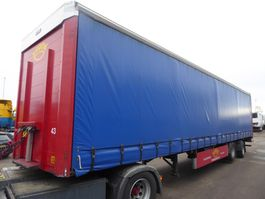 sliding curtain semi trailer Kel-Berg LBW, Stang , BPW Doppelbereifung: 8 x 70 % Gute Reifen, Hardholz Boden 2005
