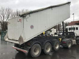 tipper semi trailer Kempf 3 Achs Kippauflieger SKM 35 3 Thermomulde 2015