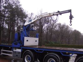 flatbed semi trailer Kennis R16F2 2005