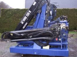 Plattform Auflieger Hiab R130F2 2005