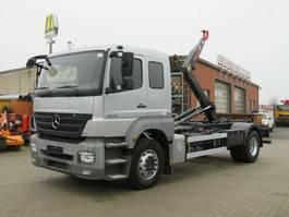 container truck Mercedes-Benz Axor 1829 Abrollkipper 6 Sitzer org.89TKM 2009