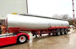 tank semi trailer semi trailer Trailor Fuel- Alu- 41,9-9Kammer, ADR bis 11/2021 1992