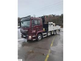 crane truck MAN TGM Crane truck w/ 14 t/m palfinger crane 2020