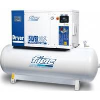 Kompressoren FIAC New Silver D 20 / 500 Silent 15 kW 1900 L / min 10 Bar Elektrische Schroefcompressor met ketel en droger 2021
