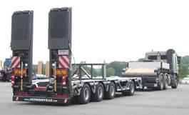 lowloader semi trailer Faymonville 4-(1+3)-Achs-Tele-Semi mit Radmulden und hydr. Rampen zwangsgelenkt 2021