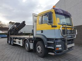 crane truck MAN TGA 35.390 2005