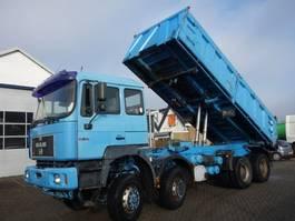 tipper truck > 7.5 t MAN 35-4148X8 KIPPER 1998