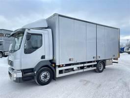 closed box truck Volvo FL serie 2011