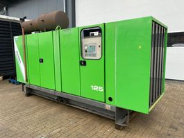 generator Iveco 8061 Mecc Alte Spa 130 kVA Supersilent generatorset 1994