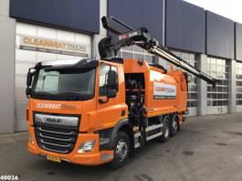 garbage truck DAF CF 340 FAN Hiab 21 ton/meter laadkraan 2020