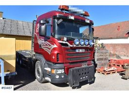 container truck Scania R560 8x4, Hook Truck 2013