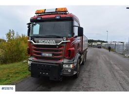 tipper truck > 7.5 t Scania R480 8x4 Tipp Truck Plow Equipped 2012
