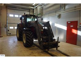 Schaufelbagger Valtra N141, Tractor with front loaders 2007