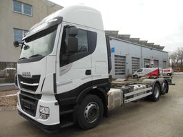 swap body truck Iveco Stralis AS 260S48, 6x2, BDF, 480 PS, Intarder 2017