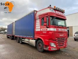 Pritsche offen LKW DAF XF 106.460 6X2 + GS MEPPEL Aanhanger -> Pluimvee/Geflügel /Chicken transport 2014