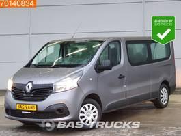 minivan - passenger coach car Renault Trafic 1.6 dCi 9 Persoons Personenvervoer L2H1 2m3 A/C Double cabin 2018