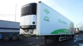 refrigerated semi trailer LAMBERET koeloplegger 2000