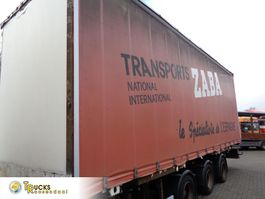 sliding curtain trailer Lecitrailer RC3E10N + 3 Axle 2007