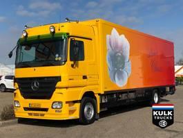 refrigerated truck Mercedes-Benz Actros 1844 / THEO MULDER / TIP TOP TRS ICELAND / VERKOOPWAGEN 2007