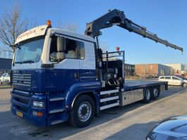 drop side truck MAN TGA 26.360 6X2 + HIAB 377 EP4 MET REMOTE 2007