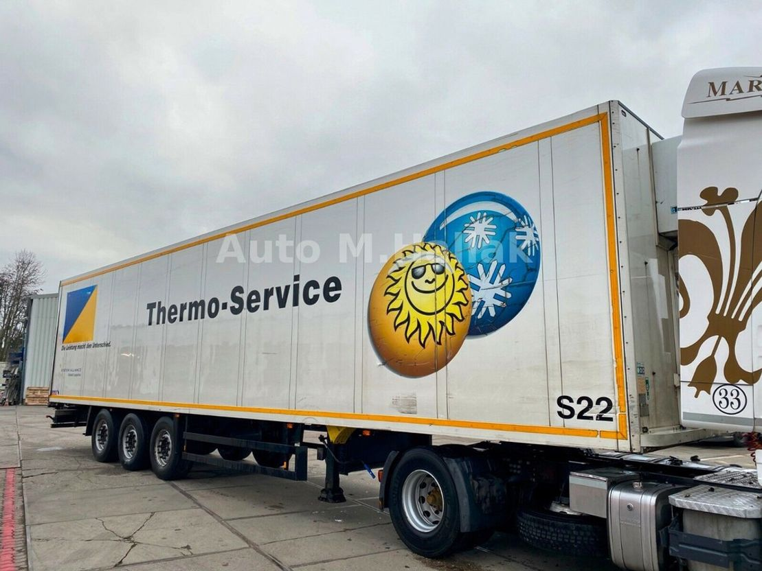 Kühlauflieger Schmitz Cargobull Koffer Isoliert Thermo King Heizung Doppelstock 2008