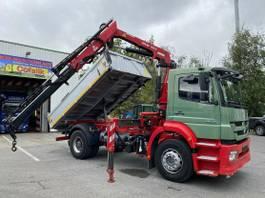 tipper truck > 7.5 t Mercedes-Benz Axor 1829 BB Meiller-Stahl + Atlas 116.3 2011